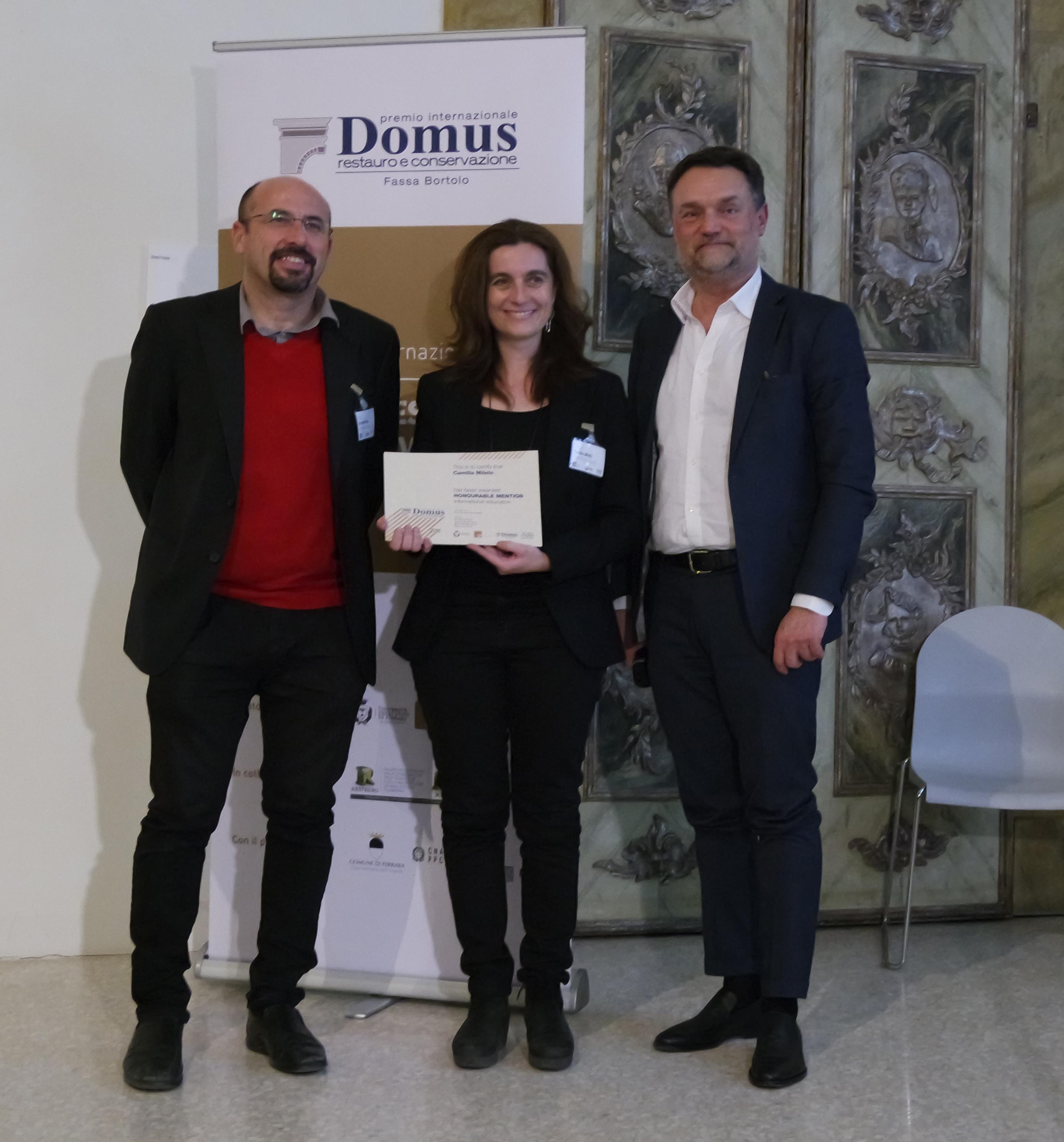 Premio domus asignatura restauraci n arquitect nica for Bauhaus valencia horario